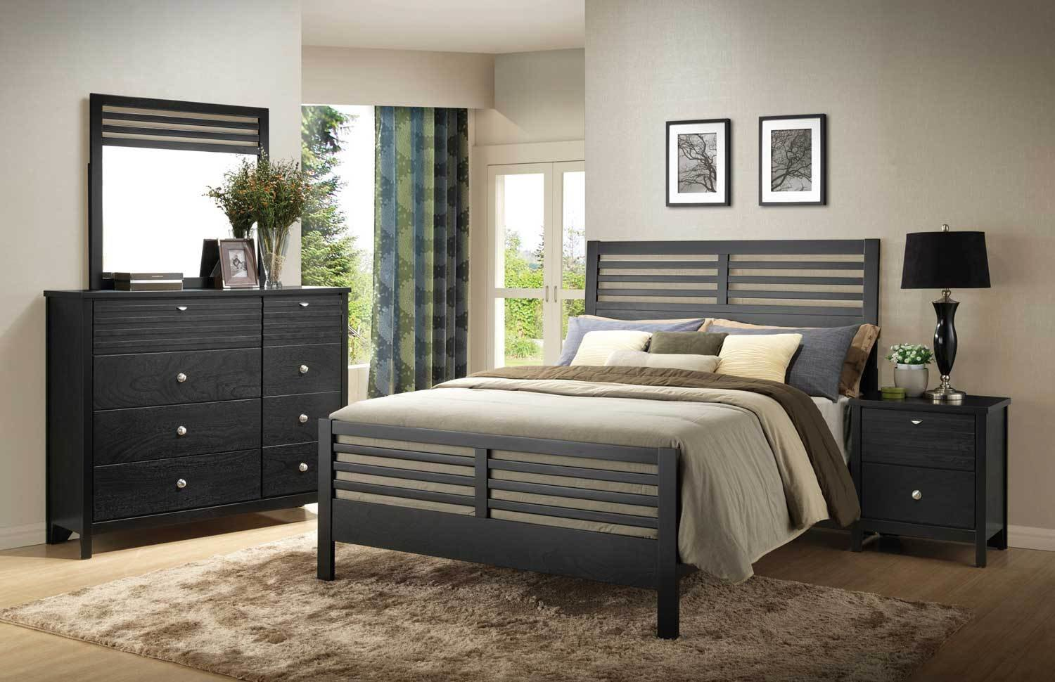 Best Coaster Richmond Bedroom Set Black 202721 Bed Set With Pictures