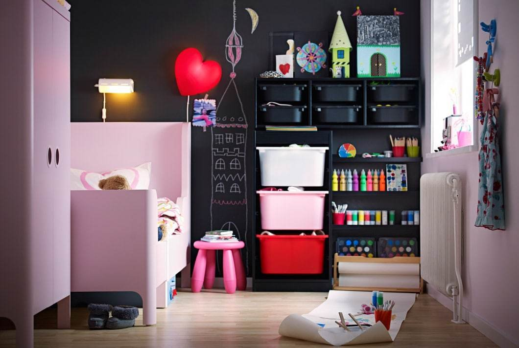 Best A Bedroom That Makes Way For Creative Play Ikea With Pictures