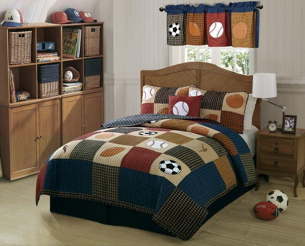 Best Softball Bedroom Theme – Interior Designing Ideas With Pictures