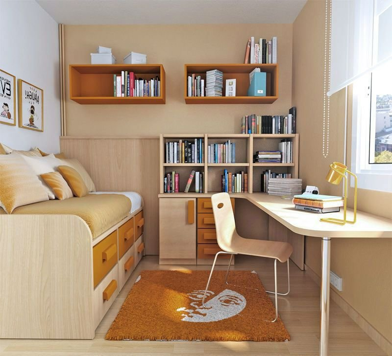 Best Utilizing Small Bedrooms For Teenagers – Interior Designing Ideas With Pictures