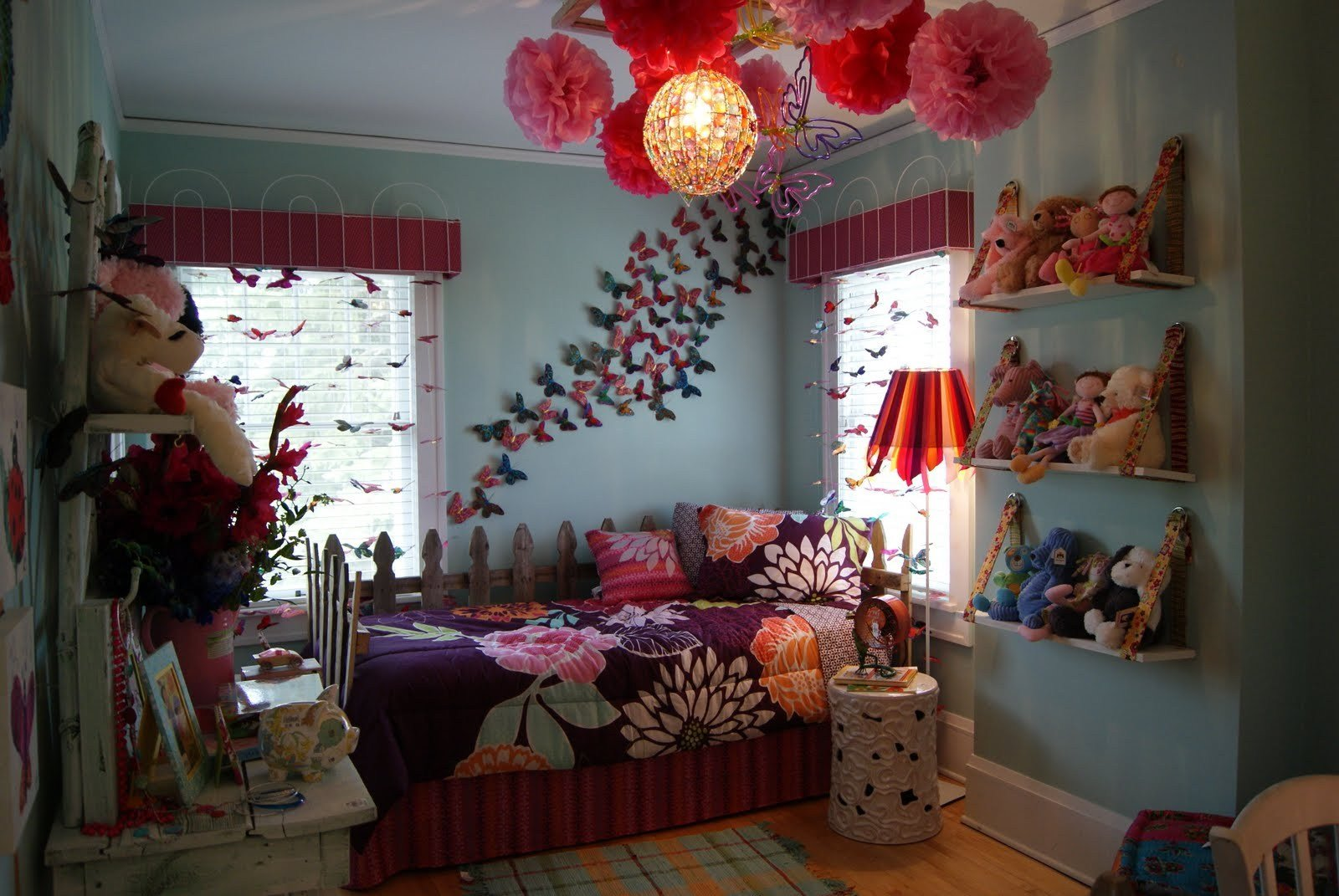 Best Butterfly Themed Bedroom In Budget – Interior Designing Ideas With Pictures