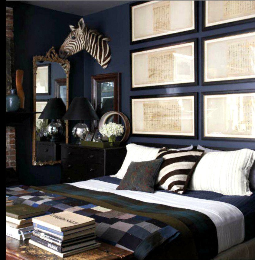 Best Master Bedroom In Blue Note Benjamin Moore Interiors By With Pictures