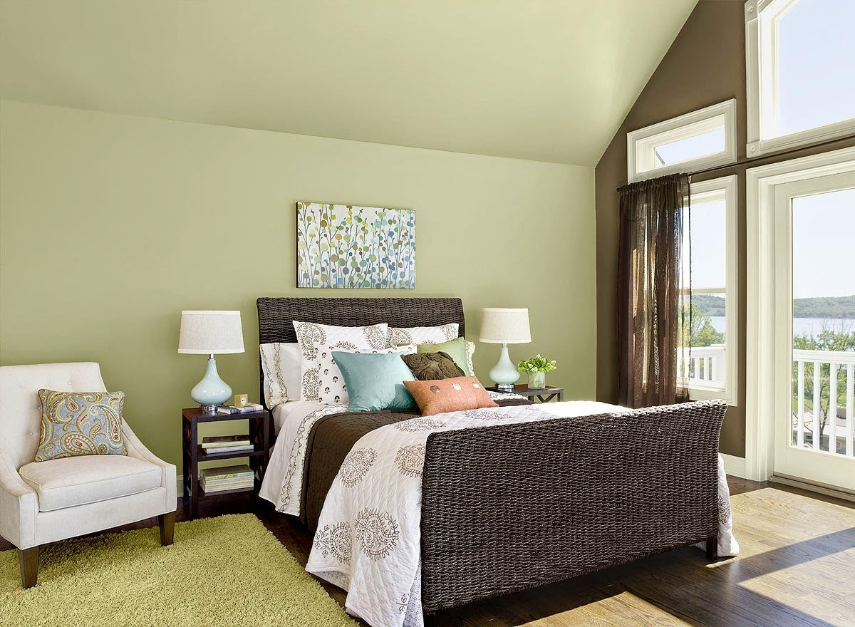 Best Guilford Green Bedroom Walls Interiors By Color With Pictures