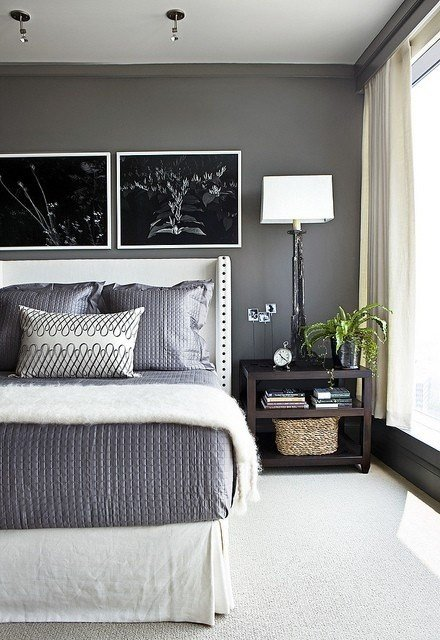 Best Benjamin Moore Kendall Charcoal Interiors By Color 8 With Pictures