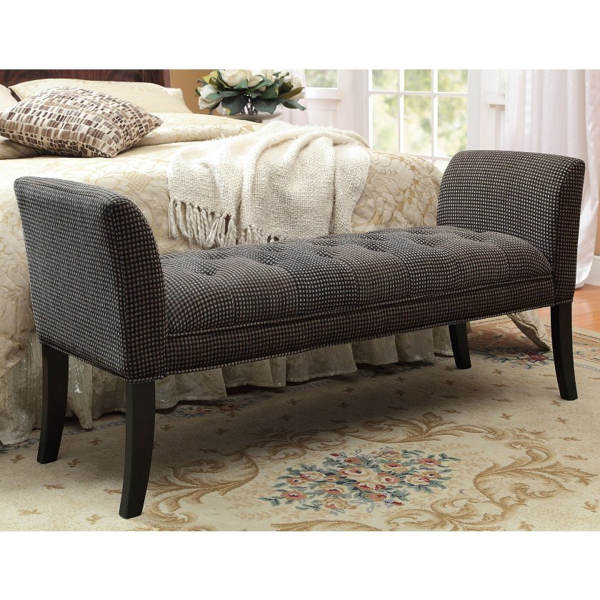 Best Furniture Cozy End Of Bed Benches For Inspiring Bedroom With Pictures