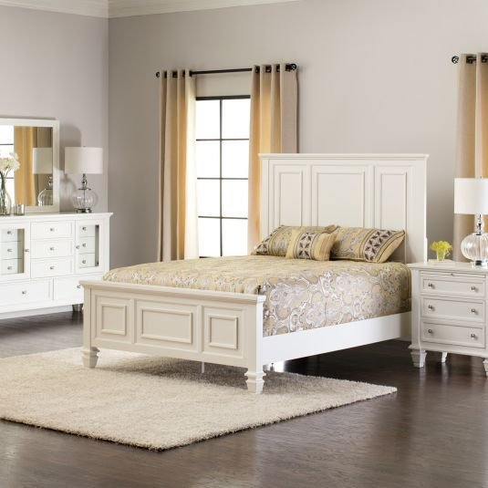 Best Sandy Beach Bedroom Collection White Jerome S Furniture With Pictures