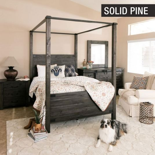 Best Abington Canopy Bedroom Collection Jerome S Furniture With Pictures