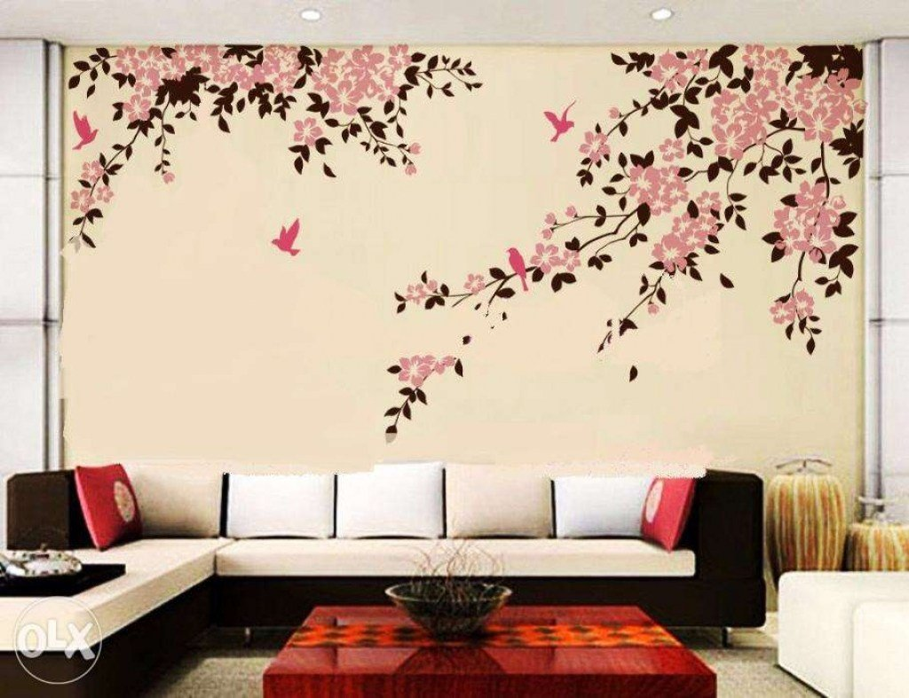 Best Wall Painting Designs For Bedroom Stunning Ideas Easy Paint Design Unique Decoration With Tape With Pictures