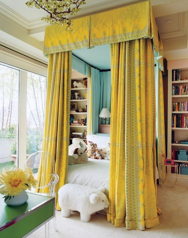 Best 31 Charming Canopy Bed Ideas For A Kid's Room Kidsomania With Pictures