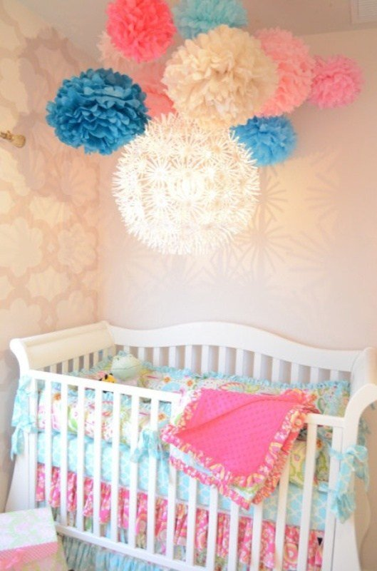Best 12 Ideas To Decorate A Nusery Room With Mobile Paper Lanterns Kidsomania With Pictures