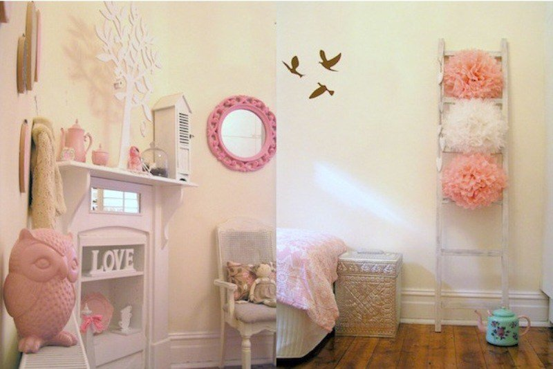 Best Girl's Shabby Chic Bedroom Design Inspiration Kidsomania With Pictures