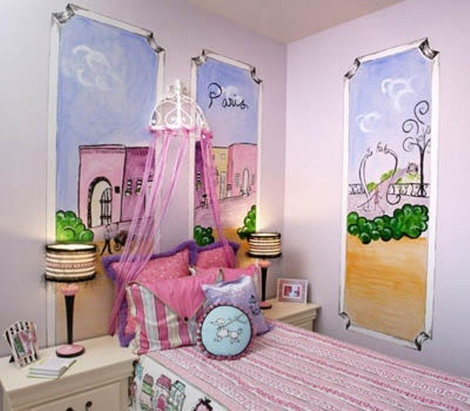 Best How To Create A Charming Girl's Room In Paris Style With Pictures