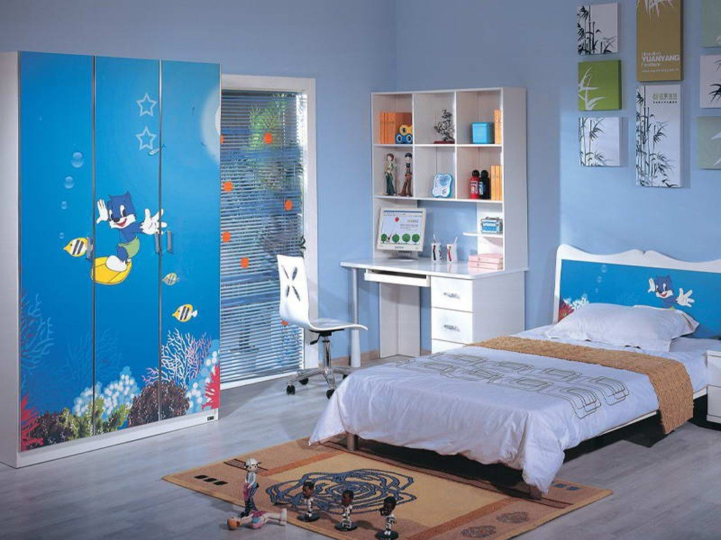 Best Kidszone Furniture Boys Bedroom Set 1 With Pictures