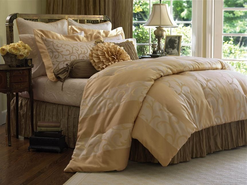 Best Cream And Teal Bedding Lovemybedroom Com With Pictures