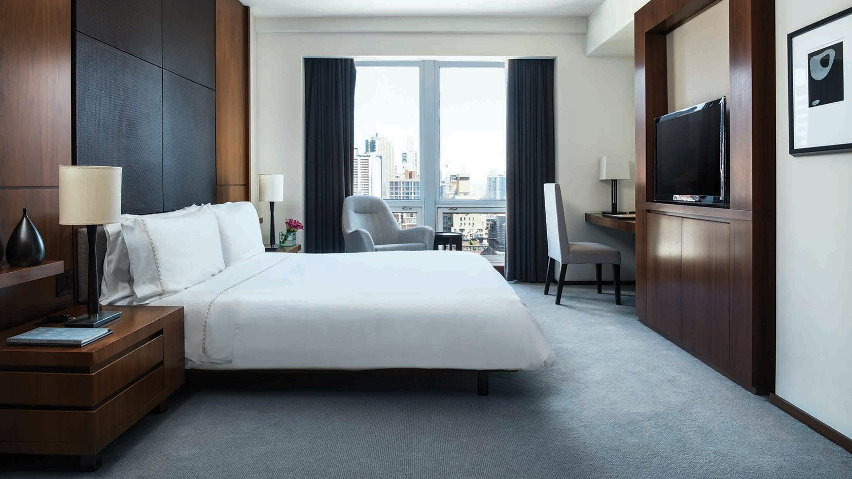 Best Luxury King Bedroom Hotel Suite With Kitchen Nyc Langham With Pictures