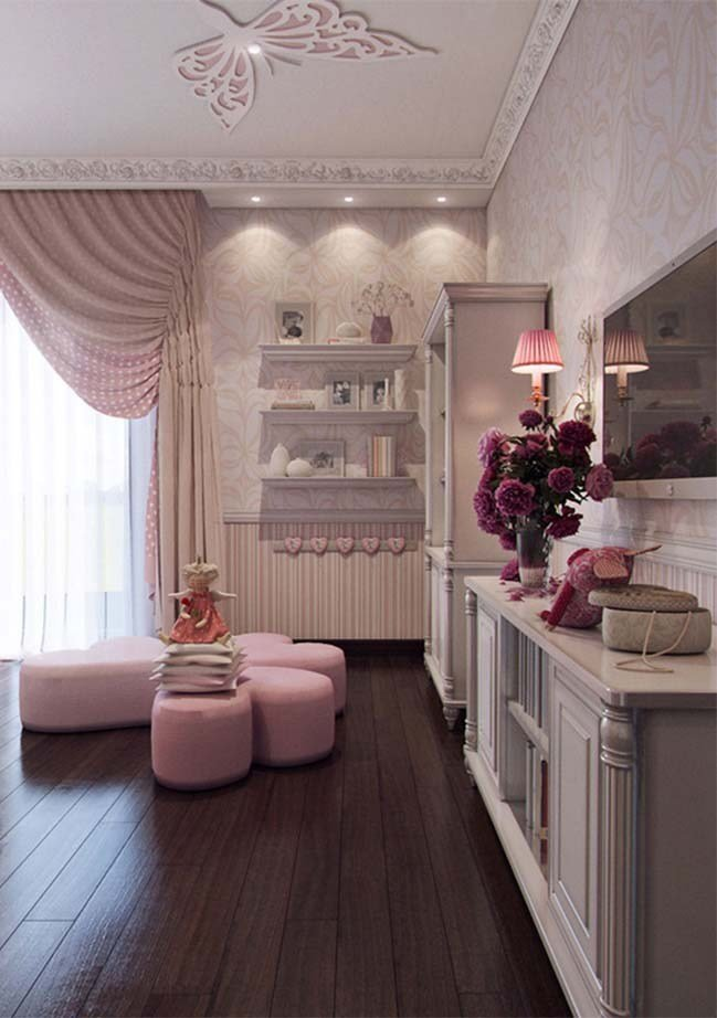 Best Lovely Bedroom Interior Design For Girls With Pictures