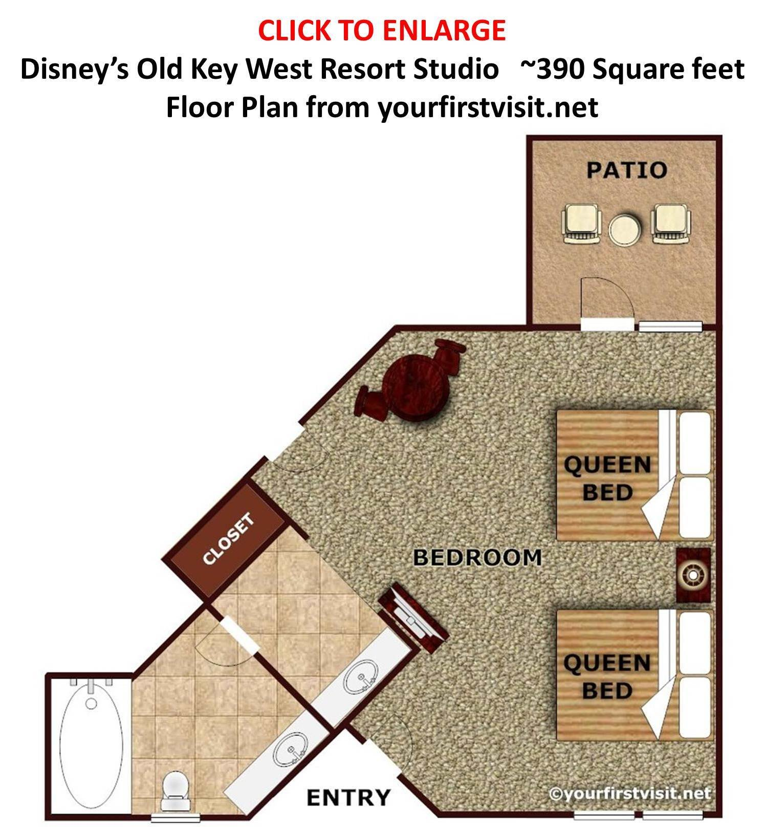 Best Overview Of Accomodations At Disney S Old Key West Resort With Pictures