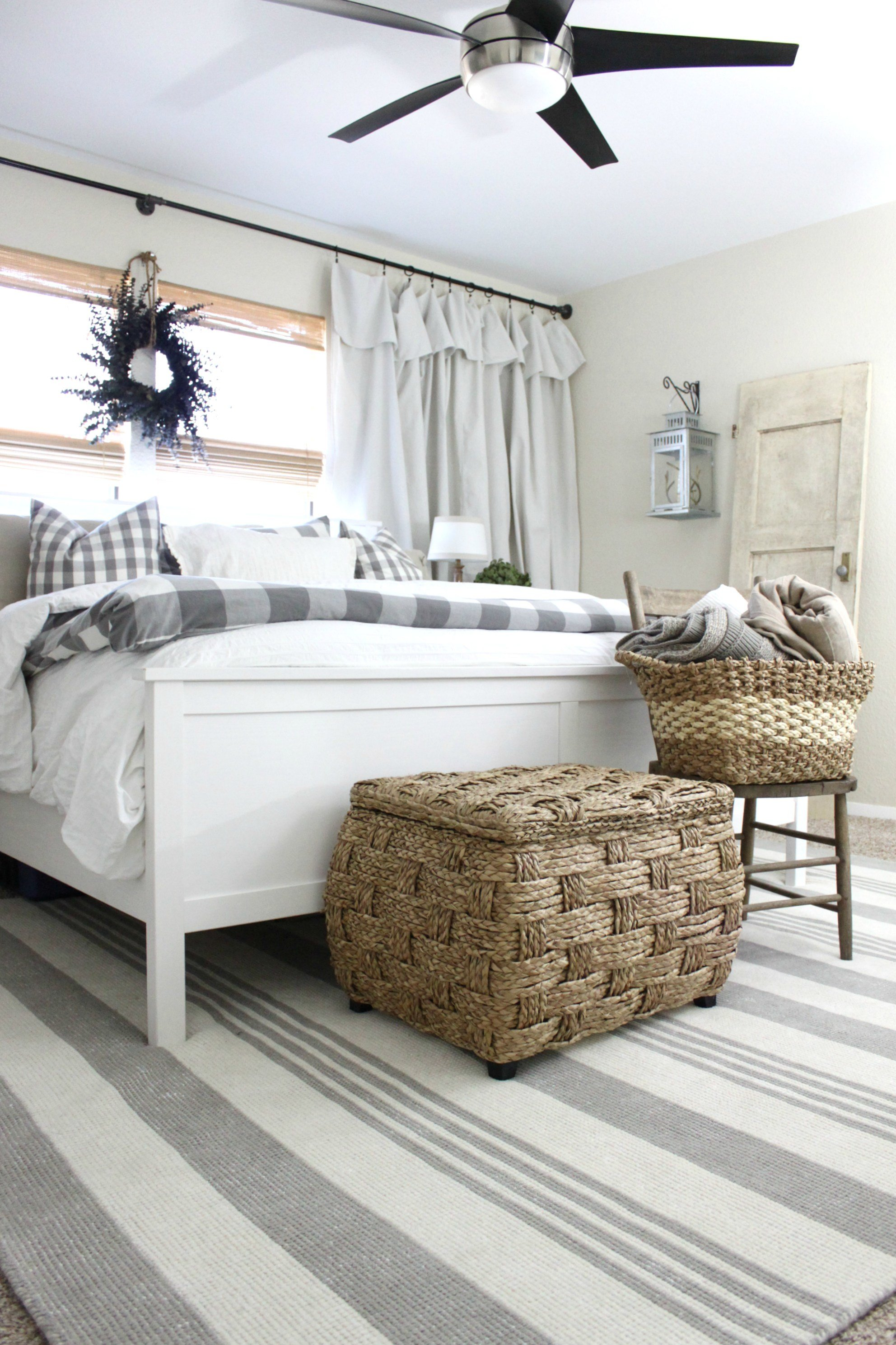Best Master Bedroom Rug Makeover An Inspired Nest With Pictures
