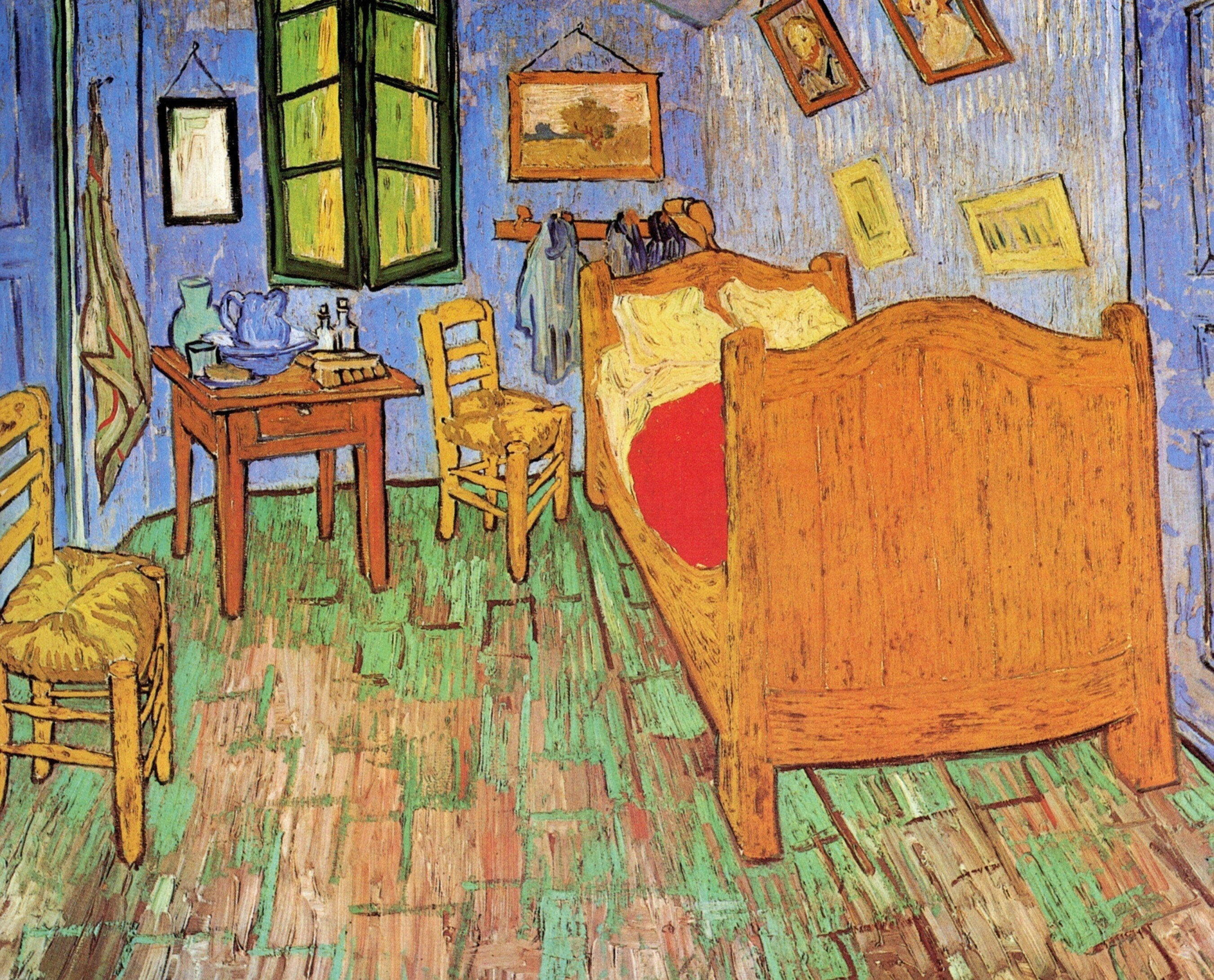 Best Vincent Van Gogh The Bedroom 1889 All Three Versions Of The Painting Analysis Art Vangogh Com With Pictures