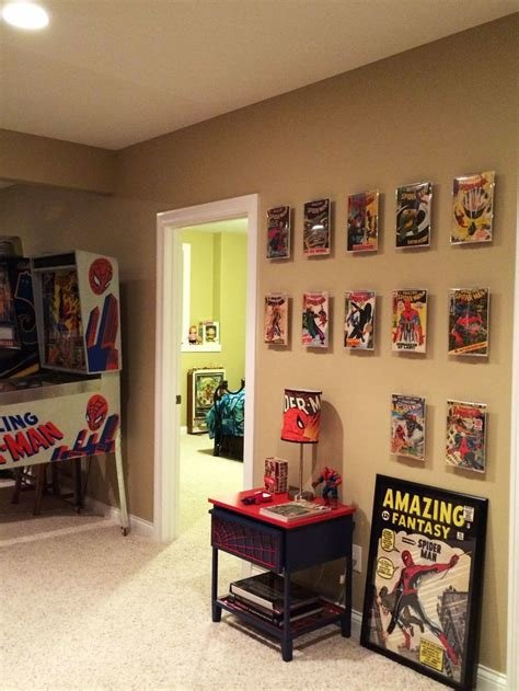 Best Unique Comic Book Rooms Ideas Paper On Gaming Room Coma With Pictures