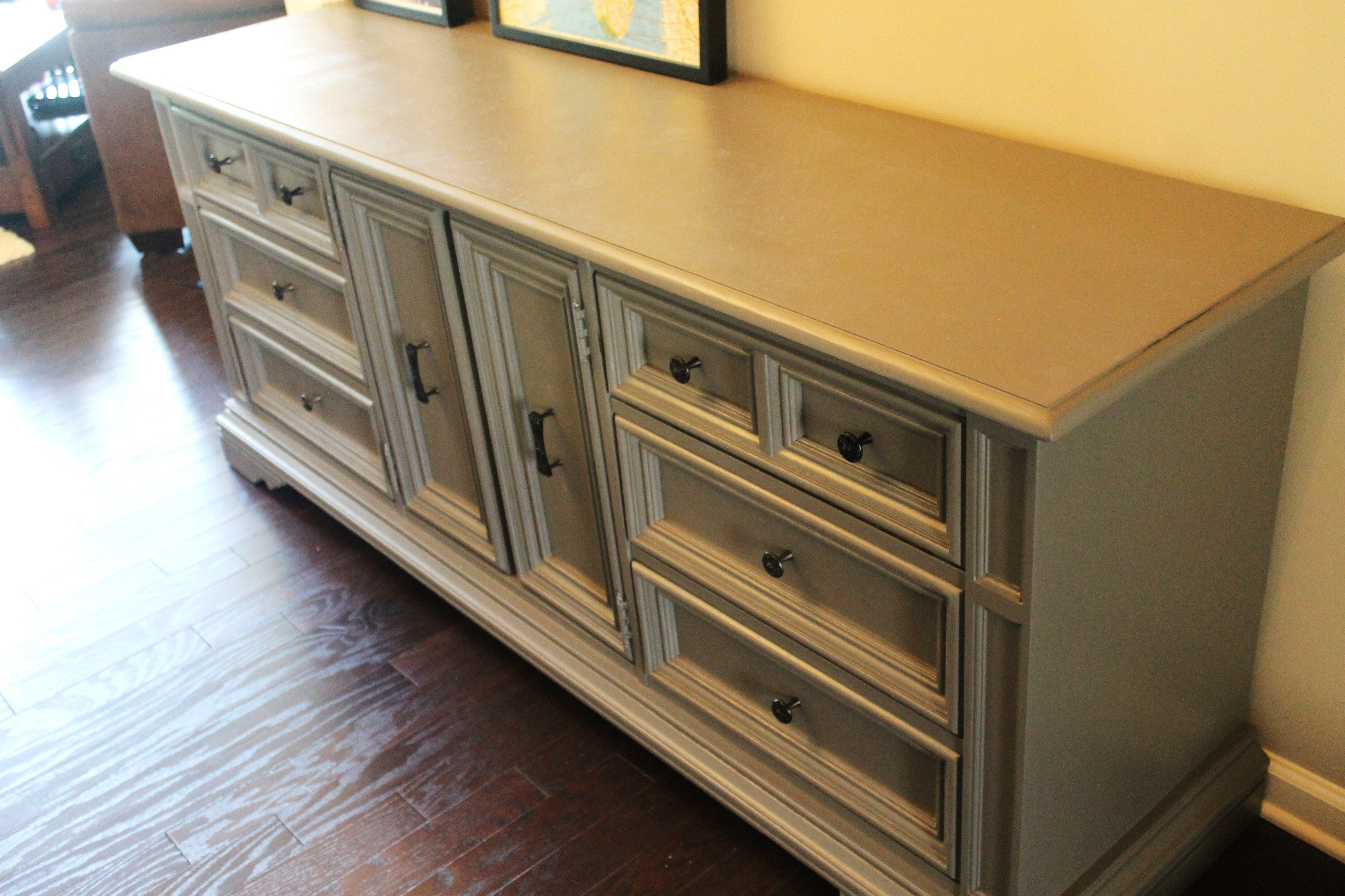 Best Diy Dresser Refinishing • Domestic Superhero With Pictures