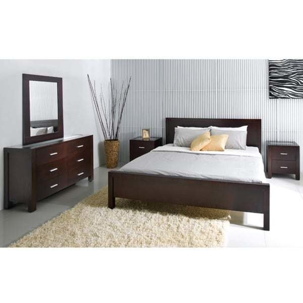 Best Abbyson Living Hamptons 5 Piece King Size Platform Bedroom Set Overstock Shopping Big With Pictures