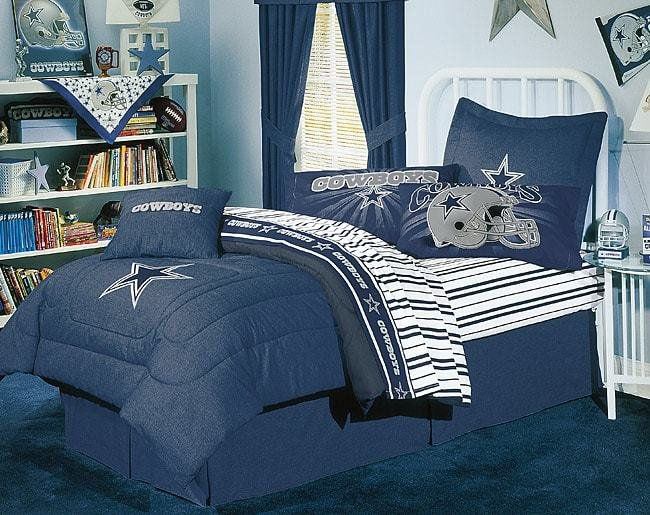Best Nfl Dallas Cowboys Comforter Set Full 1147581 With Pictures