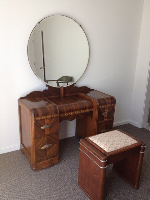 Best 1930S Art Deco Waterfall Bedroom Furniture 6 By With Pictures