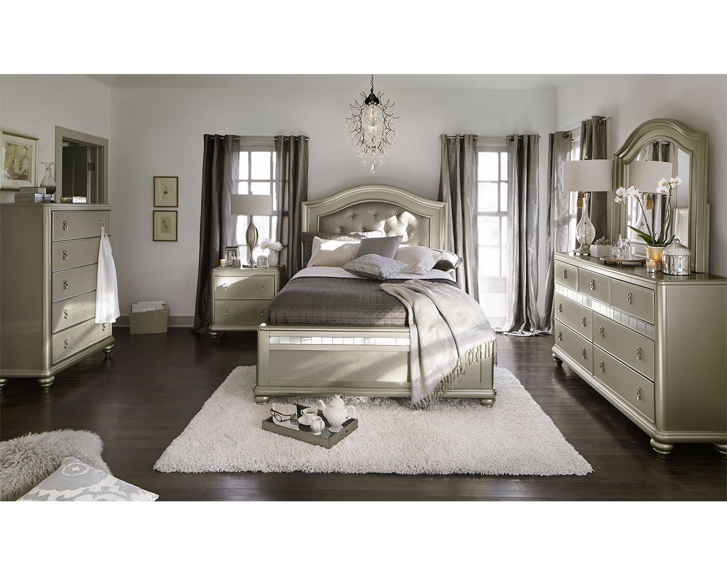 Best Shop Our Bedroom Collections Value City Furniture With Pictures
