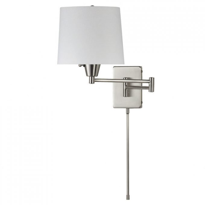 Best Lighting Dazzling Swing Arm Wall Sconce Lights Up Your Room — Cafe1905 Com With Pictures
