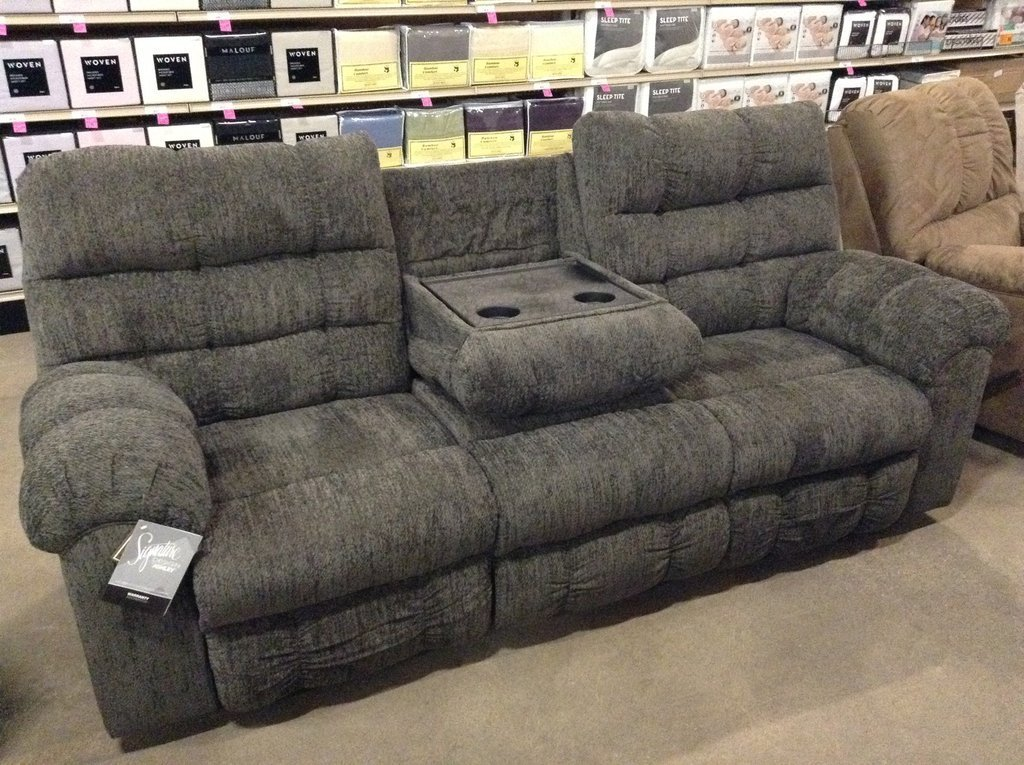 Best Acieona Reclining Sofa W Drop Down Table With Pictures