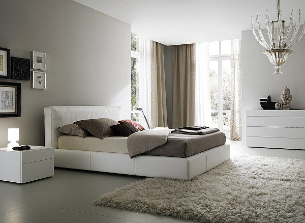 Best White And Grey Bedroom With Elegant Candlestick Style With Pictures