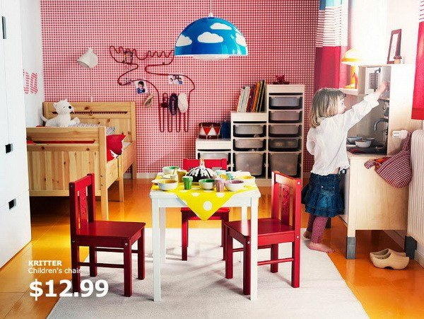 Best Ikea Kids Rooms Catalog Shows Vibrant And Ergonomic Design With Pictures