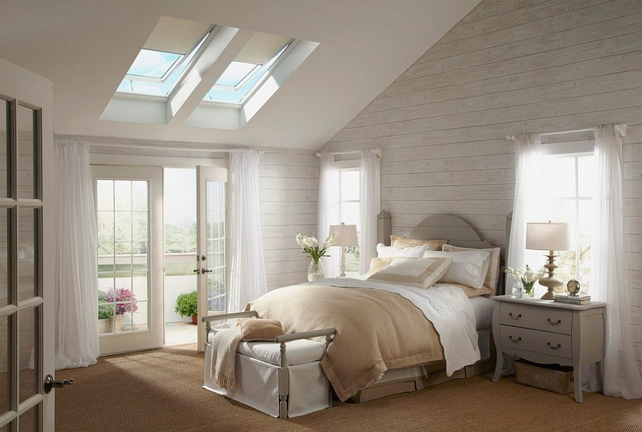 Best 23 Stylish Bedrooms That Bring Home The Beauty Of Skylights With Pictures