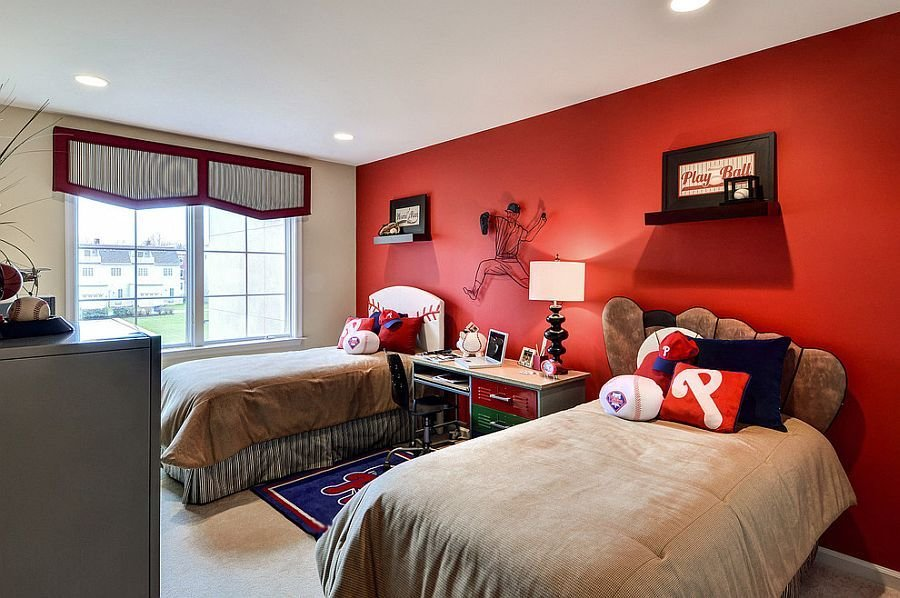 Best Fiery And Fascinating 25 Kids Bedrooms Wrapped In Shades With Pictures