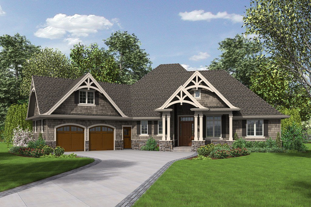 Best Craftsman Style House Plan 3 Beds 2 5 Baths 2233 Sq Ft With Pictures