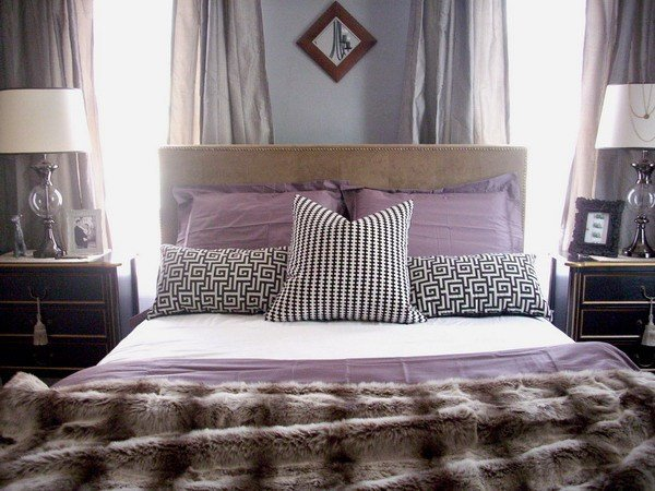 Best Purple And White Bedroom Combination Ideas With Pictures