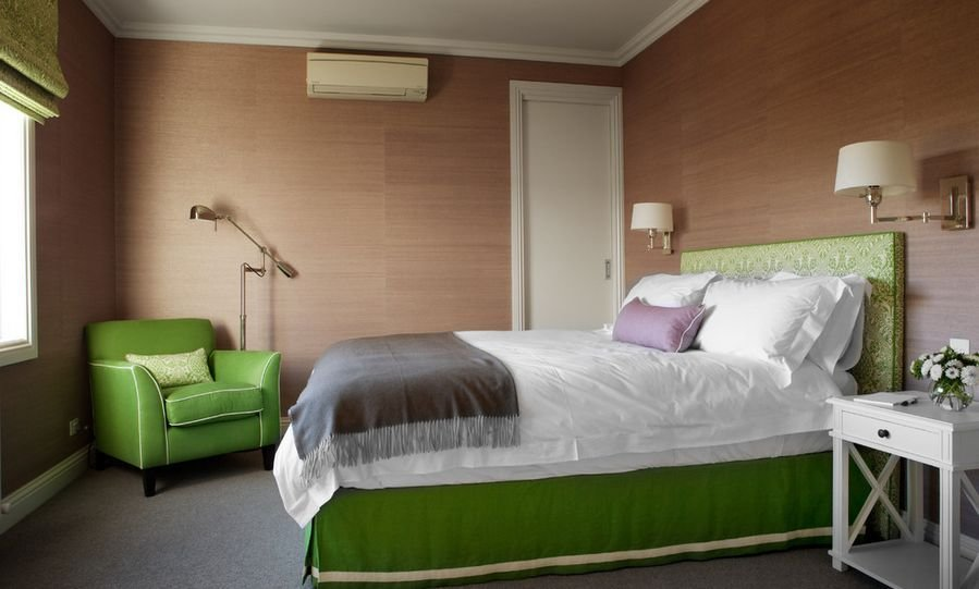 Best Green Bedroom Furniture Brown Walls Home Decorating With Pictures