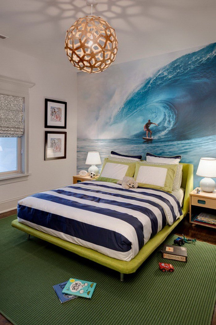 Best Eye Catching Wall Décor Ideas For T**N Boy Bedrooms With Pictures