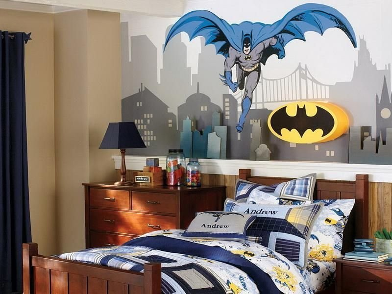 Best Batman Bedding And Bedroom Décor Ideas For Your Little With Pictures
