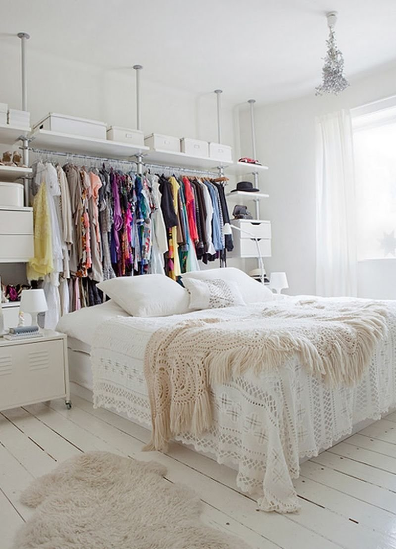 Best Keep Your Wardrobe In Check With Freestanding Clothing Racks With Pictures