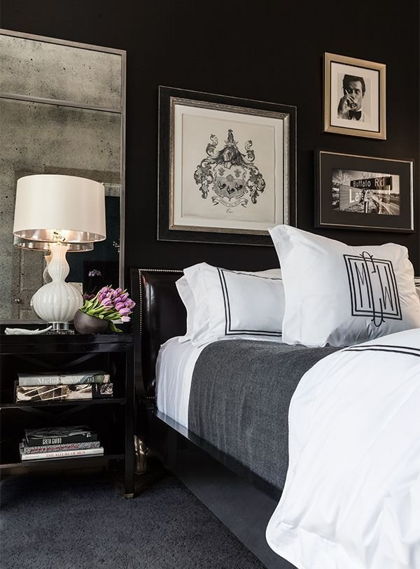 Best 35 Timeless Black And White Bedrooms That Know How To With Pictures