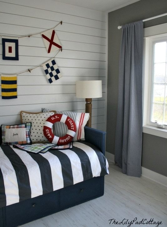 Best Nautical Big Boy Room Reveal The Lilypad Cottage With Pictures