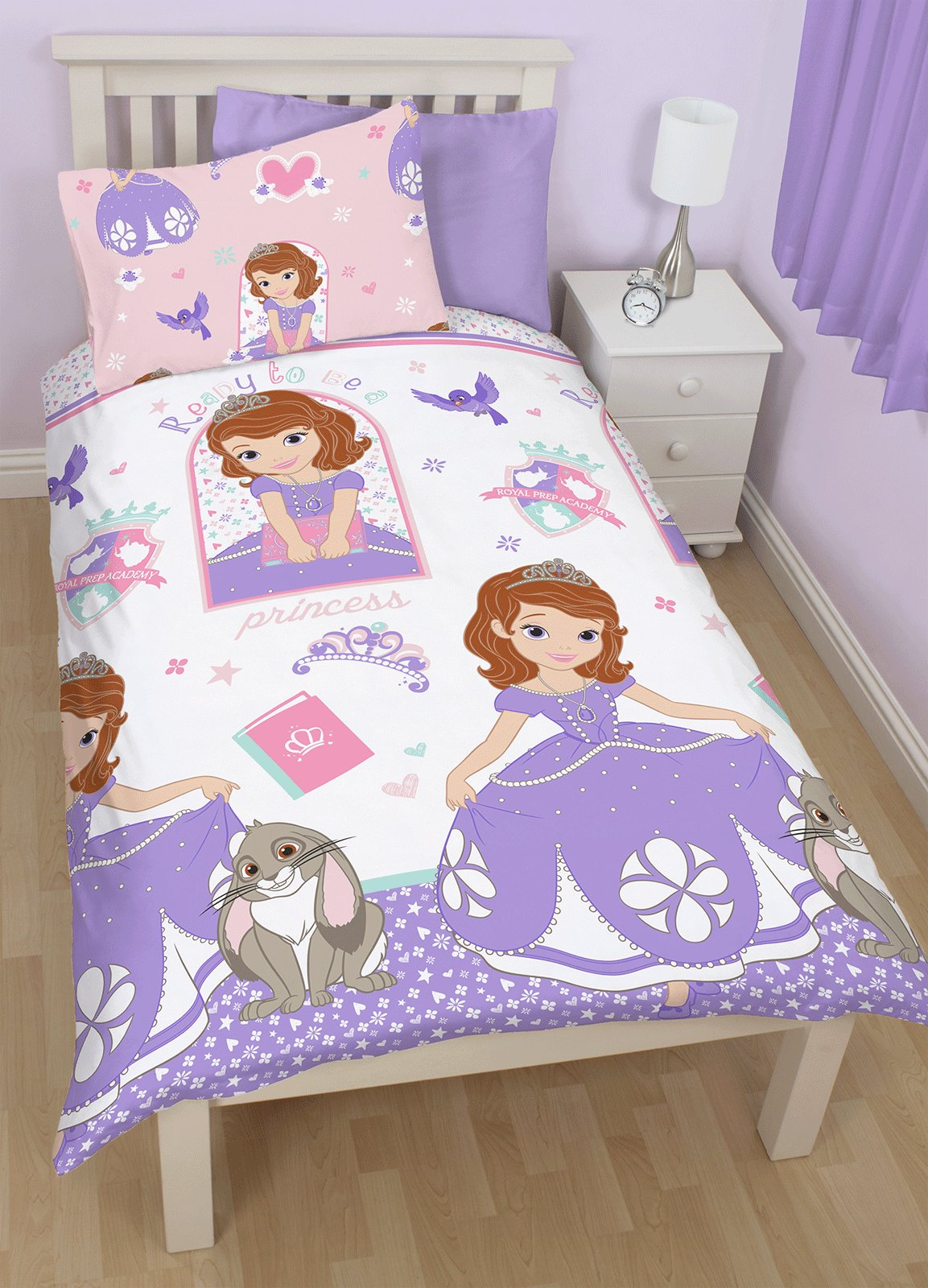 Best Disney Sofia The First Academy Single Duvet Quilt Cover With Pictures