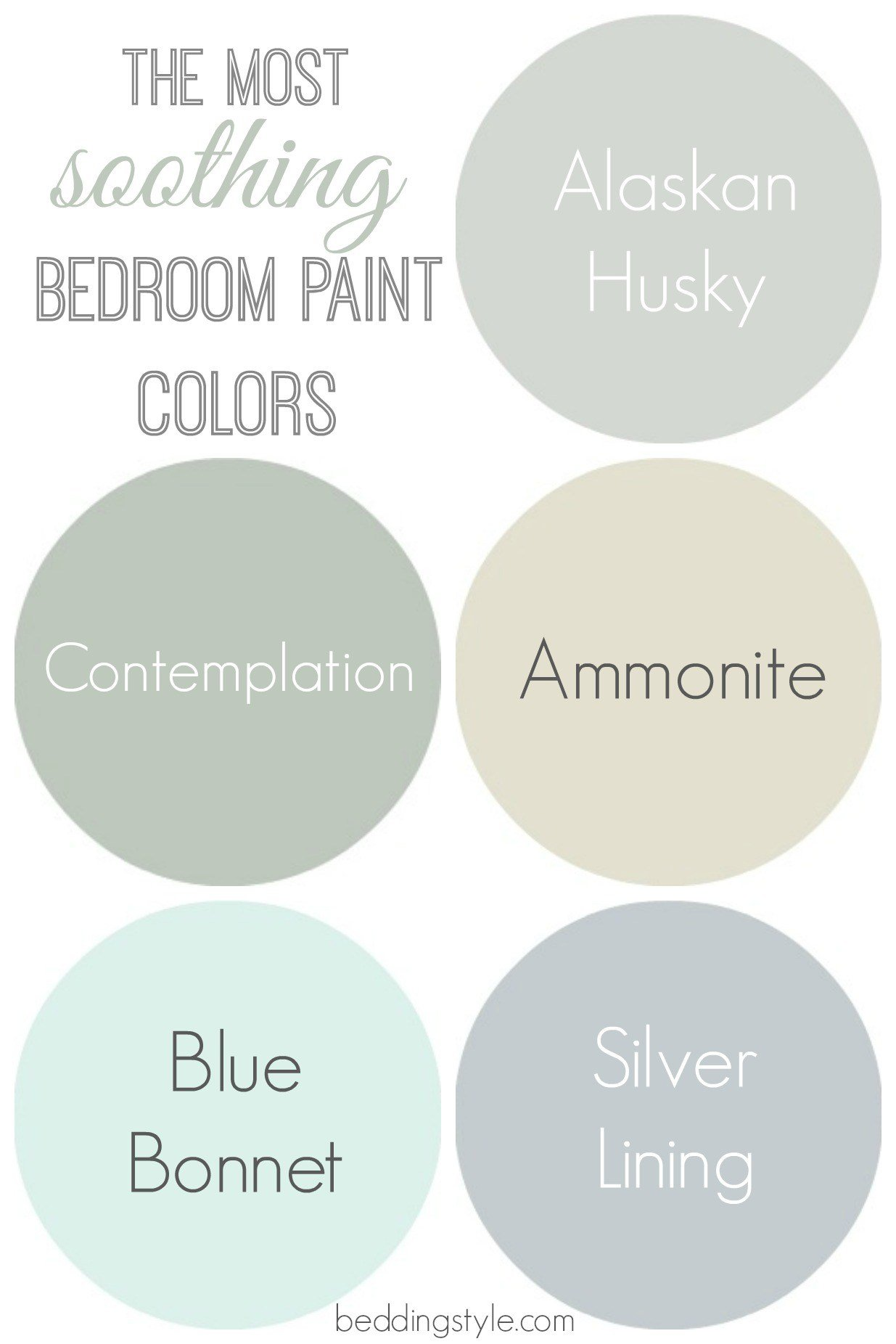 Best How To Decide On Bedroom Paint Colors From Beddingstyle Com With Pictures