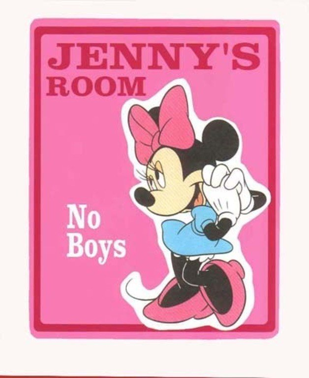 Best House Signs Name Plates – Personalized Minnie Mouse Kids With Pictures
