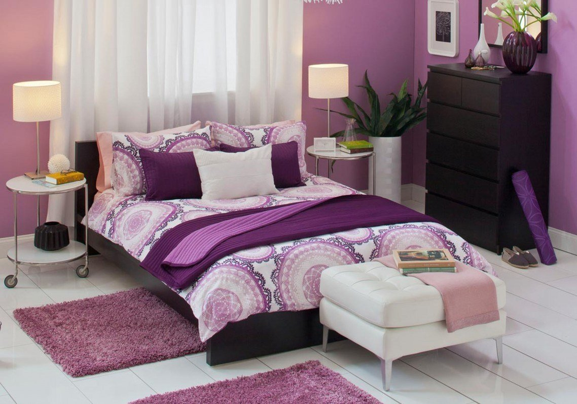 Best 15 Romantic Purple Bedroom Design Ideas Decoration Love With Pictures