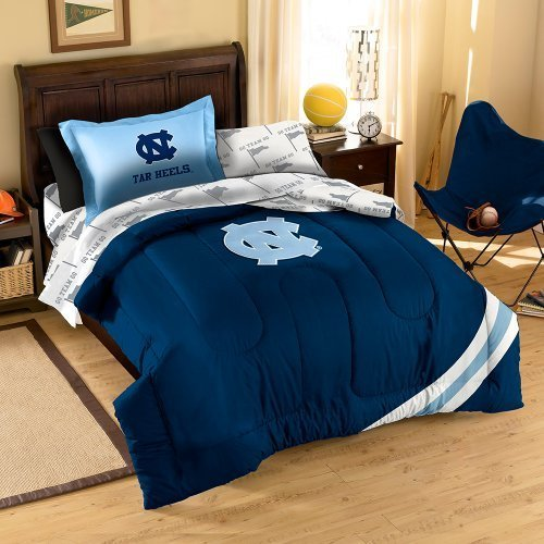 Best Ncaa North Carolina Tar Heels Twin Bedding Set Furniture With Pictures