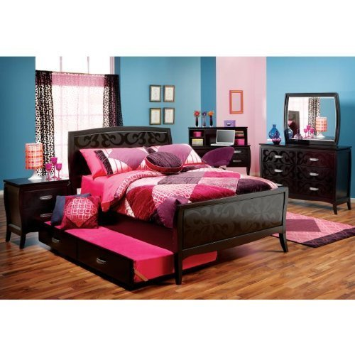 Best Bedroom Sets Furniture Belle Noir 3 Pc Full Bedroom With Pictures