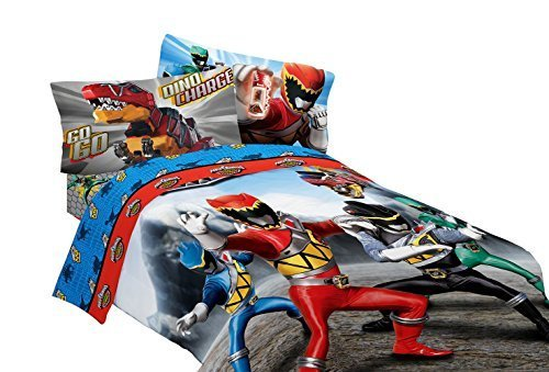 Best A Fun Bedroom With A Power Rangers Bedding Set With Pictures